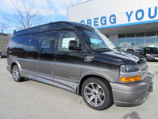 2017 Explorer Van Conversion CHEVROLET EXPRESS Black